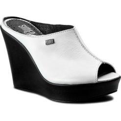 Chodaki damskie: Klapki SIMEN - 6960 Biały