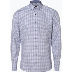 Eterna Slim Fit - Koszula męska niewymagająca prasowania, niebieski. Niebieskie koszule męskie non-iron Eterna Slim Fit, m. Za 199,95 zł.