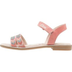 S.Oliver RED LABEL Sandały dusty pink. Czerwone sandały chłopięce marki s.Oliver RED LABEL, z materiału. Za 169,00 zł.
