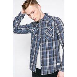 Blend - Koszula. Szare koszule męskie na spinki marki House, l, z bawełny. W wyprzedaży za 89,90 zł.
