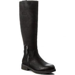 Buty zimowe damskie: Kozaki CLARA BARSON - WS16368-2 Czarny