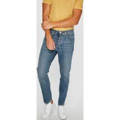 Wrangler - Jeansy Slider. Niebieskie jeansy męskie regular Wrangler. Za 319,90 zł.