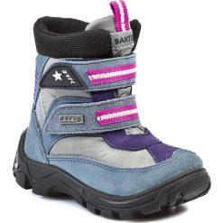 Buty zimowe chłopięce: Śniegowce BARTEK – 31522-307 Jeans Szary J-21