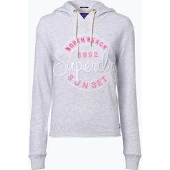 Bluzy sportowe damskie: Superdry – Damska bluza nierozpinana, szary