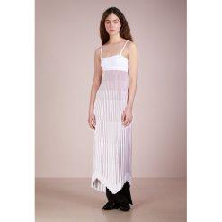 Długie sukienki: MRZ Długa sukienka optical white/brick red