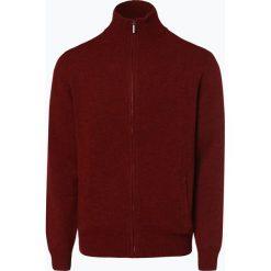 Mc Earl - Kardigan męski, pomarańczowy. Brązowe swetry rozpinane męskie Mc Earl, l, z wełny. Za 179,95 zł.