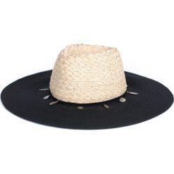 Kapelusz damski Indie beżowo-czarny. Brązowe kapelusze damskie Art of Polo. Za 47,34 zł.