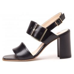 Högl Sandały Damskie. Czarne sandały damskie marki HÖGL, z materiału. W wyprzedaży za 374,00 zł.
