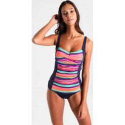 Stroje kąpielowe damskie: LASCANA NORMAL Dół od bikini navy solid