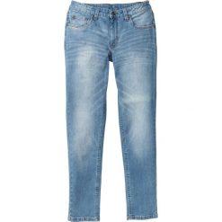 """Dżinsy ze stretchem Skinny Fit Straight bonprix niebieski """"bleached used"""". Niebieskie jeansy męskie relaxed fit marki House, z jeansu. Za 79,99 zł."""