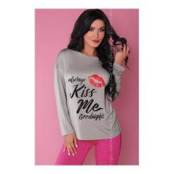 Piżama Sweet Kiss 108 Szaro-różowa. Czarne piżamy damskie marki LivCo Corsetti. Za 105,90 zł.