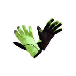RĘKAWICZKI 500 ZIMOWE. Żółte rękawiczki damskie B'TWIN, na zimę. Za 59,99 zł.