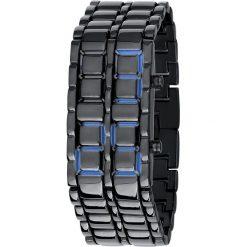 Iron Samurai Watch Blue Zegarek na rękę standard. Niebieskie, cyfrowe zegarki męskie marki Iron Samurai Watch Blue, metalowe. Za 99,90 zł.
