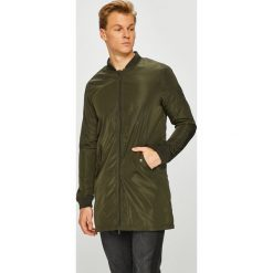 Brave Soul - Kurtka. Szare kurtki męskie przejściowe marki Brave Soul, l, z bawełny, z kapturem. W wyprzedaży za 179,90 zł.