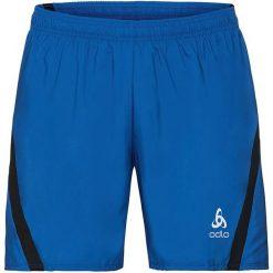 Odlo Spodenki męskie Shorts SLIQ granatowe r. L (321932). Niebieskie spodenki sportowe męskie marki ARTENGO, l, z elastanu. Za 99,46 zł.