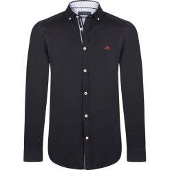 """Koszule męskie na spinki: Koszula """"Pinhigh"""" w kolorze czarnym"""