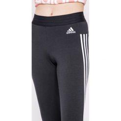 Adidas Performance - Legginsy. Szare legginsy adidas Performance, l, z bawełny. Za 139,90 zł.