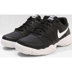 Nike Performance CITY COURT 7 Obuwie do tenisa Outdoor black/white. Czarne buty do tenisu damskie marki Nike Performance, z materiału. Za 189,00 zł.