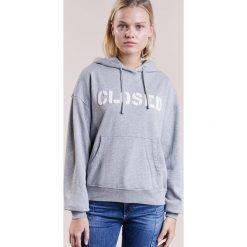 CLOSED Bluza z kapturem grey melange. Szare bluzy rozpinane damskie CLOSED, l, z bawełny, z kapturem. W wyprzedaży za 441,75 zł.
