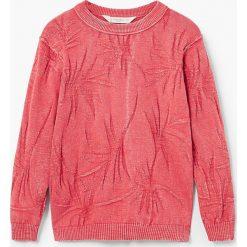 Swetry chłopięce: Mango Kids – Sweter dziecięcy Sea 110-164 cm