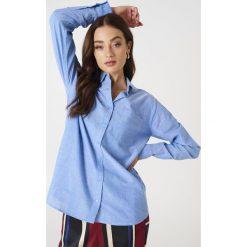 Koszule wiązane damskie: Rut&Circle Batystowa koszula Selma – Blue