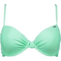 """Biustonosz bikini """"Sambozola"""" w kolorze miętowym. Zielone biustonosze z fiszbinami Brunotti. W wyprzedaży za 65,95 zł."""