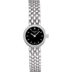 RABAT ZEGAREK TISSOT T- LADY T058.009.11.051.00. Czarne zegarki damskie TISSOT, metalowe. W wyprzedaży za 924,00 zł.