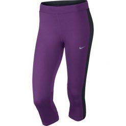 Legginsy do biegania damskie 3/4 NIKE DRI-FIT ESSENTIAL CAPRI / 645603-513 - NIKE DRI-FIT ESSENTIAL CAPRI. Fioletowe legginsy Nike. Za 79,00 zł.