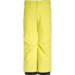Chinosy chłopięce: Roxy BACKYARD Spodnie narciarskie lemon tonic