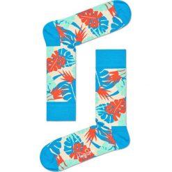 Happy Socks - Skarpetki Jungle. Szare skarpetki męskie Happy Socks, z bawełny. W wyprzedaży za 29,90 zł.