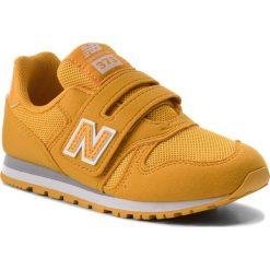 Trampki chłopięce: Sneakersy NEW BALANCE – KV373OWY Żółty