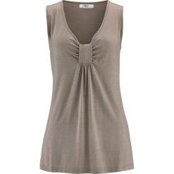 Tunika shirtowa bonprix brunatny. Czarne tuniki damskie marki DOMYOS, z bawełny, street. Za 54,99 zł.