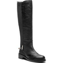 Oficerki EVA MINGE - Ayamonte 4AJ 18SF1372619EF 101. Czarne buty zimowe damskie Eva Minge, ze skóry ekologicznej, na obcasie. W wyprzedaży za 619,00 zł.