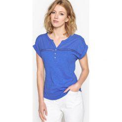 T-shirty damskie: T-shirt z czystej bawełny