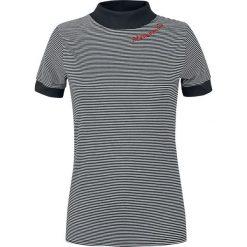 Disturbia Mélancolie Tee Koszulka damska czarny/biały. Białe bluzki asymetryczne Disturbia, m, z aplikacjami. Za 74,90 zł.