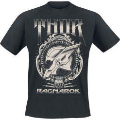 T-shirty męskie z nadrukiem: Thor Tag der Entscheidung - Thor Helmet T-Shirt czarny