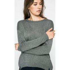 Lee - Sweter. Szare swetry klasyczne damskie Lee, l, z dzianiny, z okrągłym kołnierzem. W wyprzedaży za 199,90 zł.