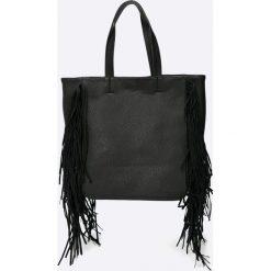 Pieces - Torebka. Czarne shopper bag damskie marki Pakamera, ze skóry, na ramię, duże. W wyprzedaży za 69,90 zł.