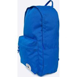 Converse - Plecak. Niebieskie plecaki męskie Converse, z poliesteru. Za 139,90 zł.