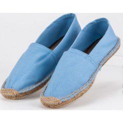 Tomsy damskie: Błękitne espadryle MERG niebieskie