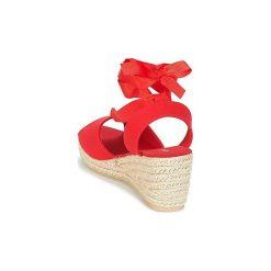 Sandały Vero Moda  SALLY WEDGE SANDAL. Czerwone sandały trekkingowe damskie marki Vero Moda. Za 143,20 zł.