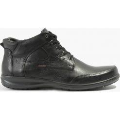 Kozaki czarne Primo. Czarne buty zimowe męskie Badura. Za 263,99 zł.