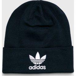 Adidas Originals - Czapka. Czarne czapki zimowe męskie adidas Originals. W wyprzedaży za 69,90 zł.