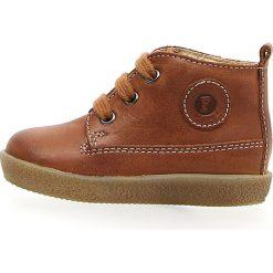 """Trampki chłopięce: Skórzane sneakersy """"Falcotto 1196"""" w kolorze jasnobrązowym"""
