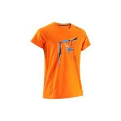 T-shirty męskie: Koszulka Climb Zone pomarańcz