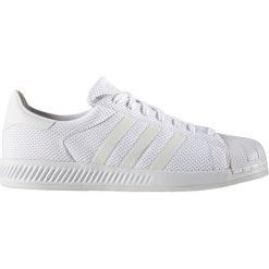 """Buty adidas Superstar Bounce """"White"""" (S82236). Białe halówki męskie marki Adidas, z materiału, adidas superstar. Za 134,99 zł."""