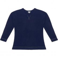 Sweter kaszmirowy w kolorze granatowym. Niebieskie swetry klasyczne damskie marki Ateliers de la Maille, z kaszmiru, z okrągłym kołnierzem. W wyprzedaży za 545,95 zł.