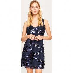 Wieczorowa sukienka - Granatowy. Niebieskie sukienki koktajlowe marki Reserved. Za 199,99 zł.
