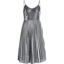 Sukienki hiszpanki: Navy London GIGI Sukienka koktajlowa silver