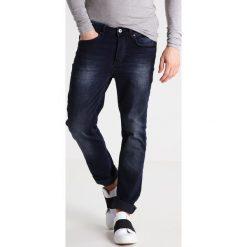 Jeansy męskie regular: YOURTURN Jeansy Straight Leg dark blue denim